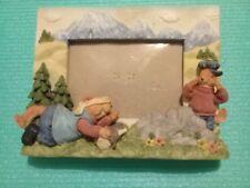 Cadre photo en relief - humoristique à poser - Déco montagne et personnages