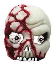 BLOODY GLOW IN DARK TESCHIO Maschera Scheletro Fantasma Spaventoso Halloween Fancy Dress
