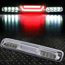[LED BAR]FOR 99-07 SILVERADO SIERRA THIRD 3RD TAIL BRAKE LIGHT CARGO LAMP CHROME