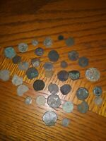 #LOT OF 36 NICE ANCIENT ROMAN COINS UNCLEANED