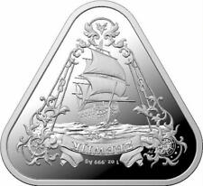 2021 $1 Zeewijk Triangular 1oz Silver Coin -with capsule only