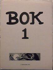 BOK 1 (Gene Nigra, 1975) Portfolio w 8 prints by Hannes Bok  #350/750  **NEW**