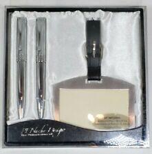 PENache Design PEN Pencil BOX FINE WRITING INSTRUMENTS Luggage Tag Open Box