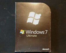 Microsoft Windows 7 Ultimate 32 bit 64 bit Operating System 100% GENUINE