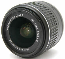 Nikon AF-S DX ED 18-55mm F3.5-5.6 GII for SLR digital camera
