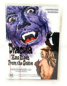 Dracula Has Risen from the Dead (DVD, 1968) Christopher Lee New & Sealed R4