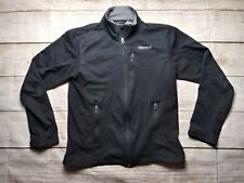 Marmot Mens Black Softshell Athletic Jacket Size M