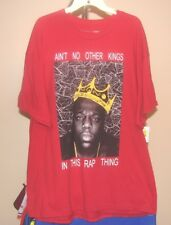 Biggie Smalls Classic Red Ain't No Other Kings in this Rap Thing 2XL T-Shirt