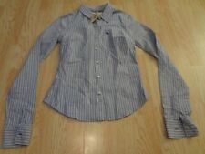 Women's Abercombie & Fitch S NWT Striped Shirt Collared
