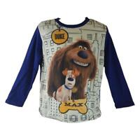 The Secret Life of Pets Boys Long Sleeved T-shirt Sizes from 3 to 8 years