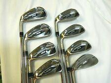 LH TaylorMade M3 Iron set 4-AW Steel Stiff flex irons TT XP 100 S300 M-3