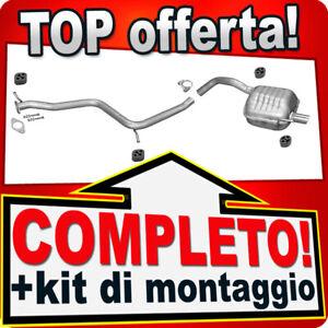 Scarico Completo per ALFA ROMEO 147 1.9 JTD JTDM 2000-2010 Marmitta
