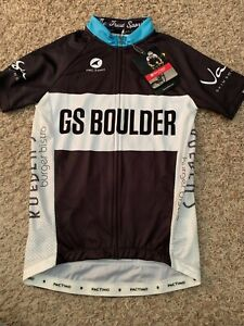 NWT Pactimo Cycling Jersey - GS Boulder - Men's Small  (6739)