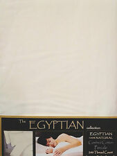 ECRU IVORY HOTEL QUALITY EGYPTIAN COTTON 200 THREAD COUNT DOUBLE BED DUVET SET