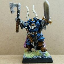 2002 Chaos Lord Champion of Chaos Undivided Exalted Hero Citadel Pro Painted GW