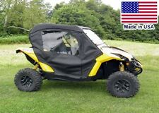 Can Am Maverick Full Enclosure w/ Hard Windshield - Doors, Rear Window, & Roof