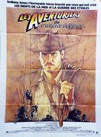 """""""LES AVENTURIERS DE L'ARCHE PERDUE (RAIDERS OF THE LOST ARK)"""" Affiche originale"""