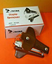 Lot Of Three 3 Safina Staple Remover New In Box