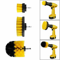 3PCS Pinsel Power Bohrbürste Drill Scrubber Brush Bohrbürste Cleaner