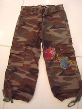 pantalon camouflage, fleur, ZARA 3 ans