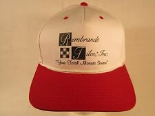 Vintage Mens Cap REMBRANDT TILES, INC. Your Total Mosiac Source [Z99a2]