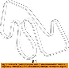 ford oem 12-16 f-350 super duty-serpentine drive fan belt cc3z8620a
