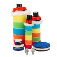 29X Polishing Pad Kit Buffing Pads for Car SUV Polisher Waxing Polishing Machine