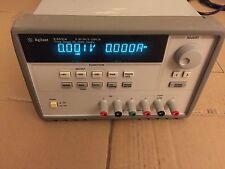 Agilent E3631A DC Power Supply,Triple output : +25V, 1A; -25V, 1A;  6V, 5A  80W.