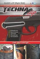 Ruger LCP 380 - Conceal Carry Belt Clip (Right Side) Techna Clip