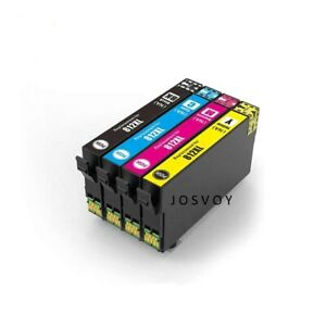 4 x 812XL 812 XL Ink Cartridge Compatible for EPSON WF3820 WF3825 WF4830 WF4835