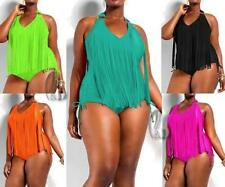One-Piece Hand-wash Only Plus Size Swimwear for Women