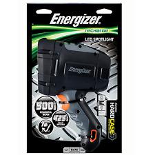 Energizer LED 500 Lumen Hard Case Rechargeable Spotlight - 425 m beam