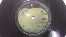 "MARY HOPKINS APPLE knock knock rare SINGLE 7"" 45 RPM INDIA INDIAN 85 VG+"