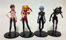 Anime EVA Neon Genesis Evangelion REI AYANAMI Asuka Makinami 4PCS Set Figure