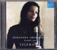 Dorothee OBERLINGER TELEMANN Recorder Trio Sonata Fantasia Partita Blockflöte CD