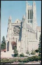 SPOKANE WA St John's Episcopal Church Vintage Postcard