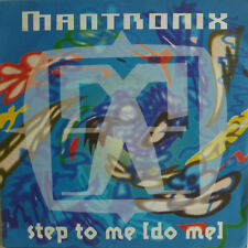 """7"""" 1991 PARTY-KULT IN MINT- ! MANTRONIX : Step To Me"""