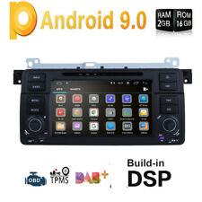 """For BMW E46 /320/325/323i/M3 7"""" GPS Navi DVD Car Radio Stereo Android 9.0 4Core"""