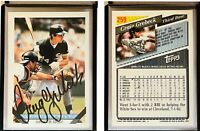 Craig Grebeck Signed 1993 Topps #259 Card Chicago White Sox Auto Autograph