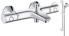 GROHE Grohtherm 800 Miscelatore Doccia Bagno Termostatico bar + COSMO 2 modalità di scorrimento KIT