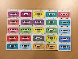 1985 Teddy Ruxpin Grubby Lot Vintage cassette tapes 25 Total Nice Shape! Grundo