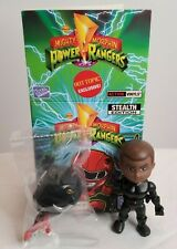 The Loyal Subjects Mighty Morphin Power Rangers Black Ranger Stealth Hot Topic