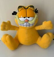 """Huge GARFIELD & Odie Paws soft stuffed plush toy - 14"""" / 36cms tall"""