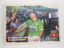 Mal Meninga 1995 Season NRL & Rugby League Trading Cards