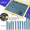 11pcs 10mm Metal Lathe tools /knife Set Bits for mini Lathe Cutting Tool Turning