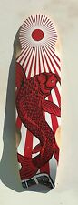 Swallow skateboard Cruiser deck7 ply Canadian maple wood FISH JAPAN D08