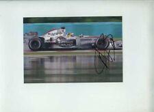 Pedro De La Rosa McLaren MP4-21 Hungarian Grand Prix 2006 Signed Photograph