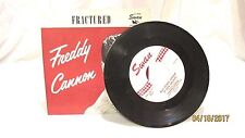 1959 Freddie Cannon Swan 45 RPM Record Way Down Yonder in New Orleans S4043