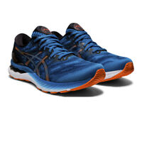 Asics Mens Gel-Nimbus 23 Running Shoes Trainers Sneakers Blue Sports Breathable