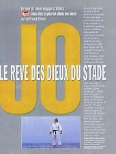 COUPURE DE PRESSE CLIPPING 1996 J.O. le rêve des Dieux du Stade (16 pages)